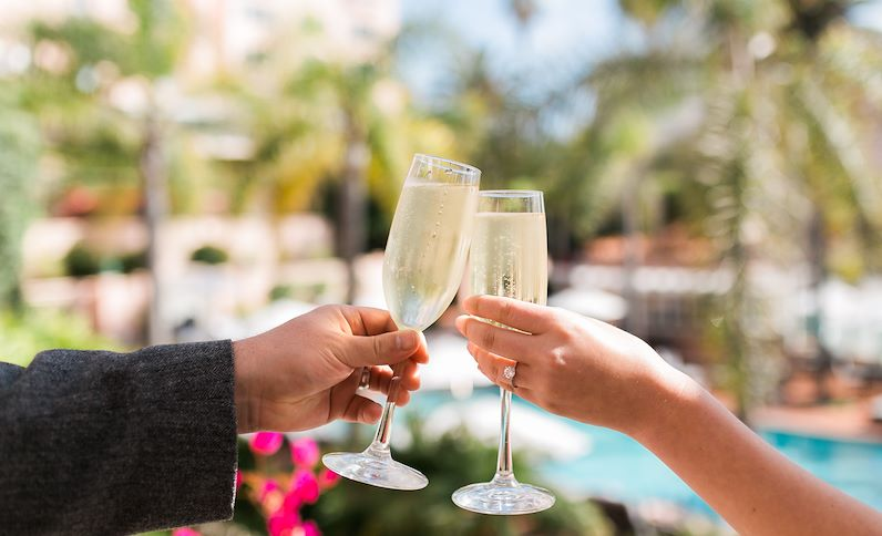 Toast to those special moments