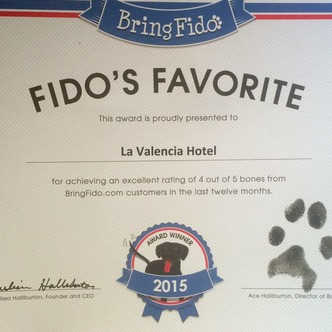 Fido's Favorite Award - February 2015