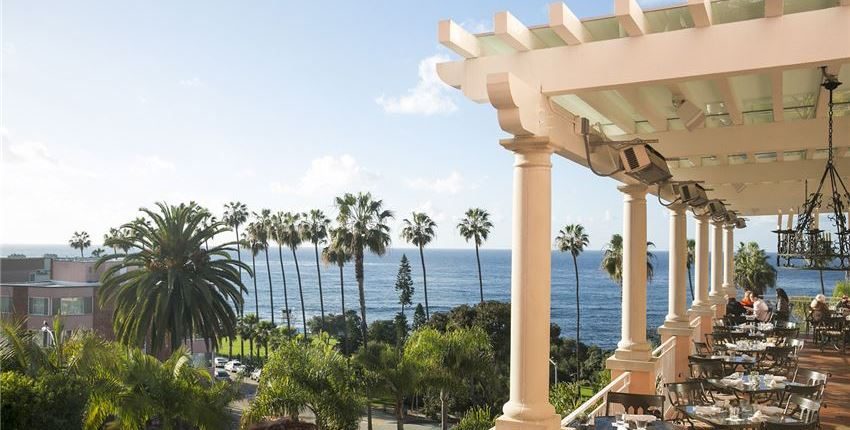 THE MED at La Valencia Hotel and Spa California