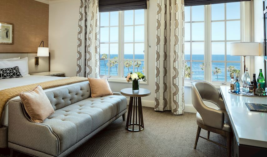 Classic King Ocean of La Valencia Hotel and Spa La Jolla