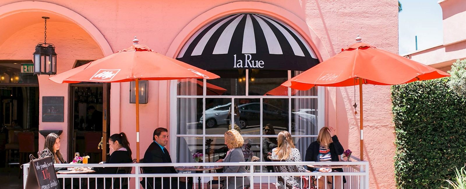 Café La Rue Dining Facilities at La Valencia Hotel California