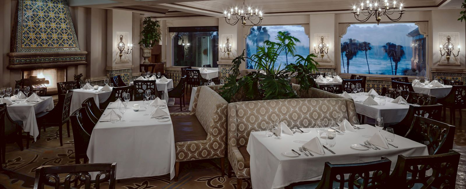THE MED Dining Facilities at La Valencia Hotel and Spa, California