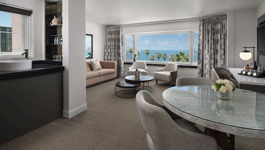 Icon Pacific Suite Living Room