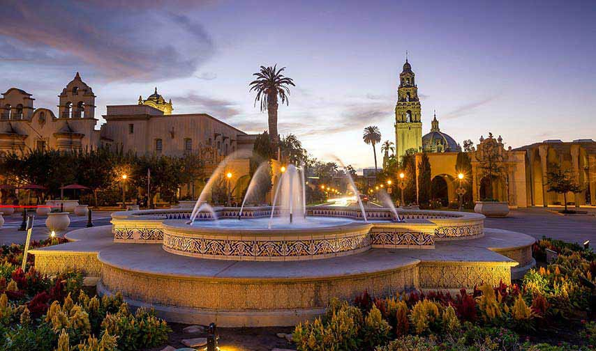 Balboa Park and Museums at California