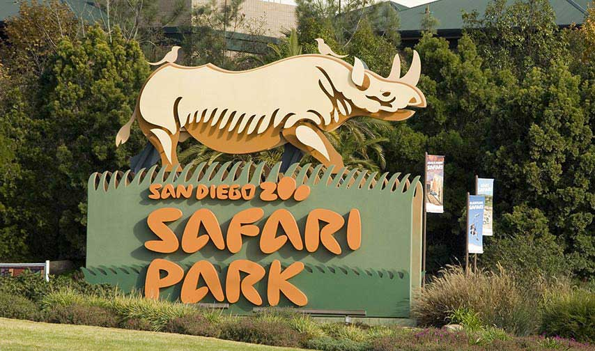 San Diego Safari Park at California