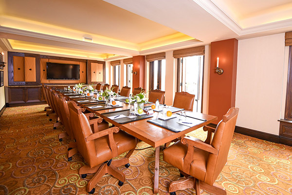 Boardroom at La Valencia Hotel, California