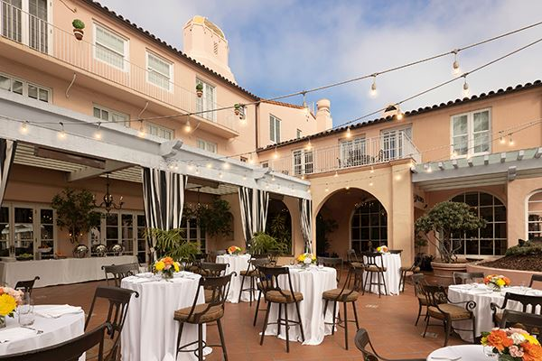 THE MED and Patio at La Valencia Hotel and Spa, La Jolla